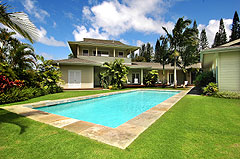 Luxury Princeville Kauai Vacation Home Rental
