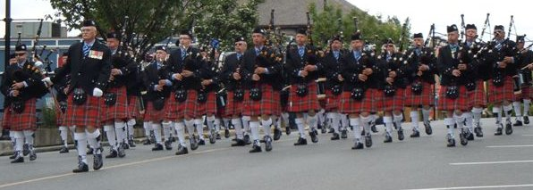 Cowichan Pipes and Drums